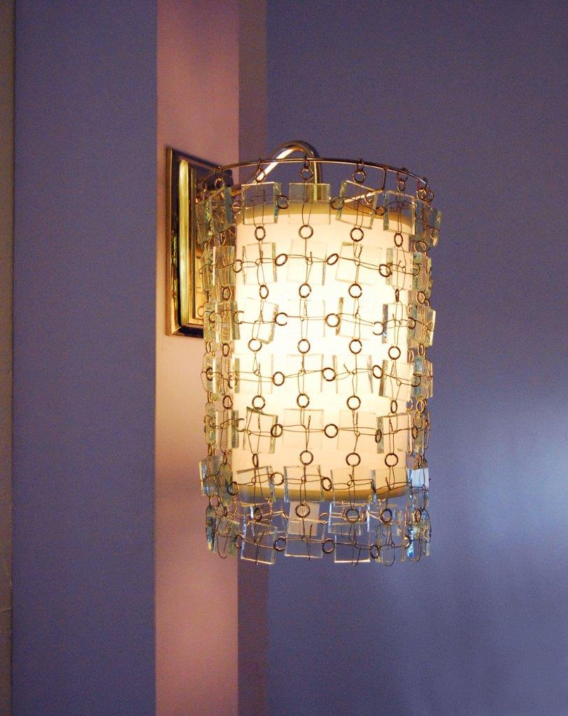 Glass Sconce 2